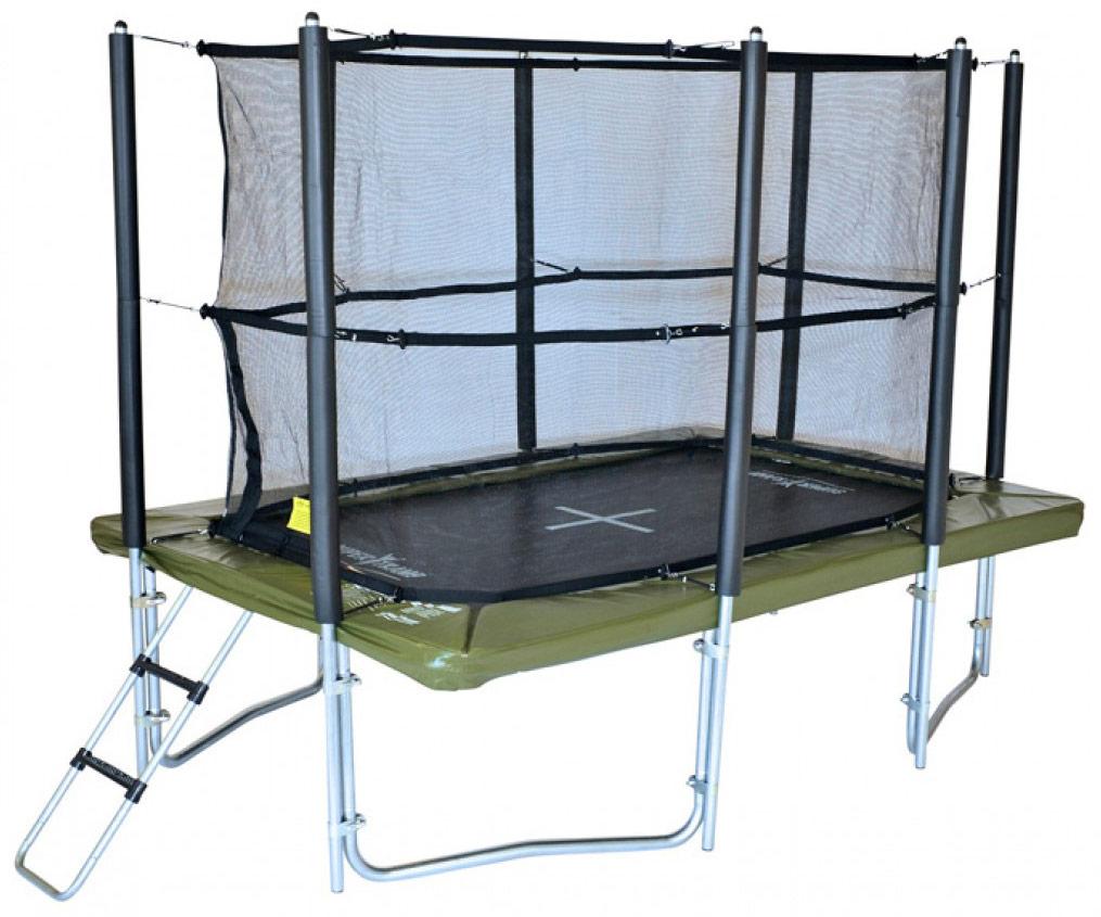 12ft x 8ft xr 360 rectangular trampoline. Black Bedroom Furniture Sets. Home Design Ideas