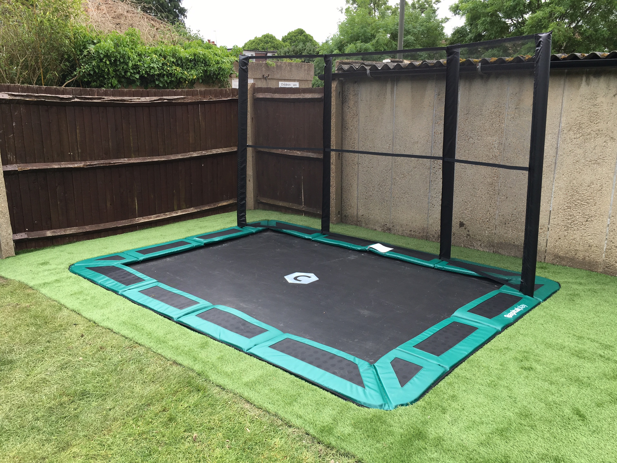 10ft By 6ft Capital In Ground Trampoline