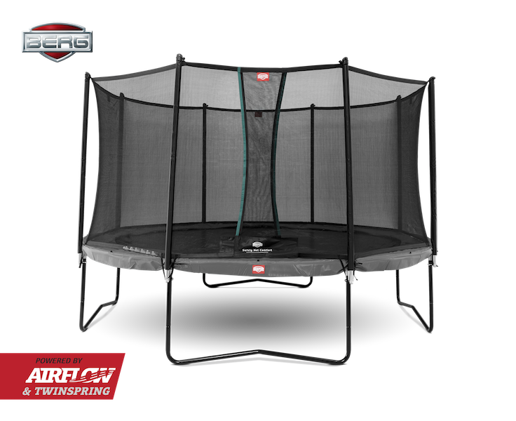 BERG Champion Grey + Safety Net Comfort